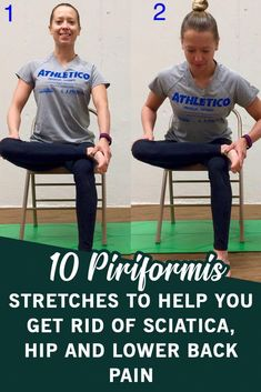 These 10 piriformis stretches offer incredible effects in the treatment of sciatica pain. Yoga For Sciatica, Sciatica Stretches, Sciatica Pain Relief, Sciatic Pain, Back Pain Relief, Sciatic Nerve Exercises, Back Pain Exercises, Hip Stretching Exercises, Health Fitness