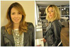 Renata Dominguez muda o visual e fica loiraça