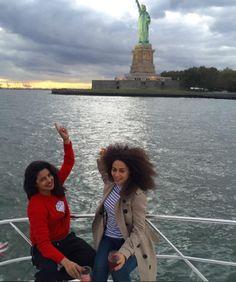 Priyanka Chopra's New York Tour with Quantico co-actor Yasmine Al Massri