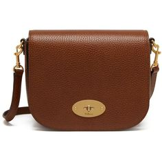 Mulberry Small Darley Satchel ($490) ❤ liked on Polyvore featuring bags, handbags, oak, mini satchel handbags, genuine leather handbags, genuine leather purse, brown satchel purse and satchel handbags