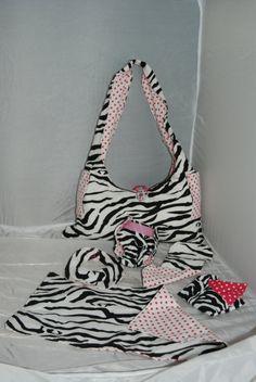 Design Your Own Baby Doll Diaper Bag. $45.00, via Etsy.