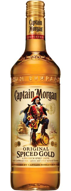 Rum Captain Morgan - Blend Guyane, Barbados and Jamaica