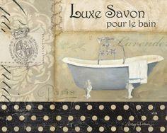 Savons de Bains I Arte por Avery Tillmon na AllPosters.com.br