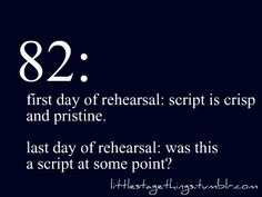 """And then they're like """"ok time turn in scripts to MTI"""" and then you're like """"shoot we're turning these in?"""""""