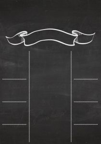 Chalkboard (quadro negro) veja como é fácil fazer o seu!