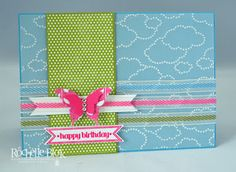 The Stamping Blok: Product Spotlight - Textured Impressions Cloudy Day Embossing Folder