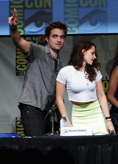The cast at Comic-con