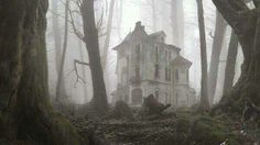 Old Abandoned House in the Woods by ~RedGamer22 on deviantART