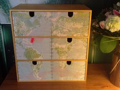 DIY Ikea Moppe Hack with ModPodge Ikea Storage Boxes, Ikea Drawers, Kids Room, Child Room, Diy Projects, Project Ideas, Craft Ideas, Decoupage, Candle Holders