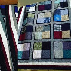 53 Ideas for sewing gifts for men dads memory quilts The Effective Pictures We Offer You About patchwork quilting how to make a A quality picture can tell you many things. You can find the most beauti Man Quilt, Boy Quilts, Scrappy Quilts, Man Cave Quilts, Patchwork Quilting, Flannel Quilts, Plaid Quilt, Shirt Quilts, Memory Pillows