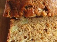 APPLE BANANA BREAD - This was a very moist delicious bread but you really didn't taste much banana taste. It was more like an apple bread. I would make again