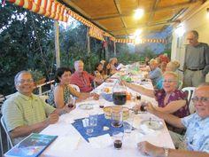 Dinner with a local family, Sorrento, Italy #sorrento #italy #travel #italianfood #grandeuropean
