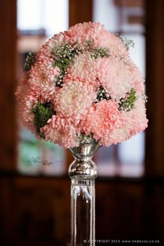 Linda Vos Photography – Guest table flowers at Kleinkaap Boutique Hotel, Centurion. Floral Design & Decor  by www.pinkenergyfloraldesign.co.za Centerpieces, Table Decorations, Floral Design, Floral Wreath, Wreaths, Boutique, Pink, Photography, Wedding