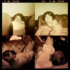 Baby Lux with Harry :)  She's gonna be one famous baby