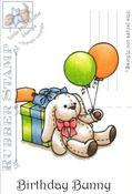 Birthday Bunny - Little Miss  Muffet Stamp