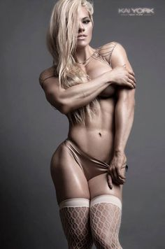 Fit and Shredded Vikings | scitechfitness:   naked-musings:  Jessica Valencia...