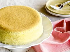 This cheesecake has a light and airy texture—this is what sets it apart from other cheesecakes.
