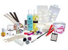 UV Gel Staters Pakket Z1 Uv Gel, Beauty Nails, Toothbrush Holder