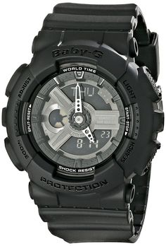 Casio Women's BA-110BC-1ACR Baby G Analog-Digital Display Quartz Black Watch * Read more  at the image link. (This is an Amazon Affiliate link)