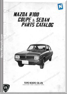 Mazda Parts Catalos Vol 2 Small Make You Up, Mazda 6, Parts Catalog, Vol 2, Oem Parts, Fix You, Repair Manuals, Rotary, Jdm