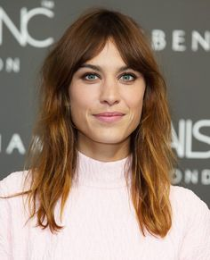 The Best Celebrity Bangs - Alexa Chung  - from InStyle.com
