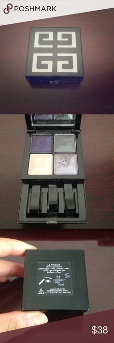 Givenchy prism eyeshadow quad Very gently used. Shade is Midnight Look Givenchy Makeup Eyeshadow