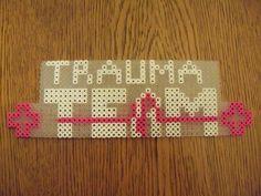 Trauma Team perler by metalsummer on DeviantArt Trauma Center, Perler Beads, Video Games, Deviantart, Videogames, Video Game