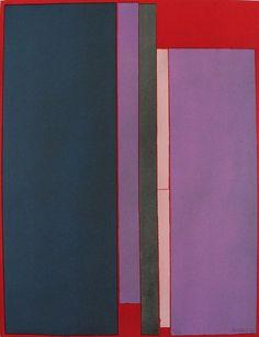 Toti Scialoja - Composizione - 1970 - Litografia a colori