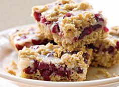 Cranberry Crunch Bars Recipe