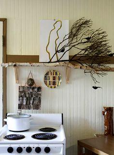 Decoração-com-ramos-galhos-e-madeira-cozinha