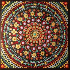 #painting #dotwork #dotilism #mandala #mandalasharing #dotting #artsofinstagram #mandalalove #mandalaart #dotart #giftideas #gift #dotworkmandala #beautiful_mandalas #dotworkers