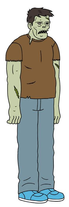 Randall Skeffington from Ugly Americans by Devin Clark