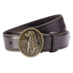 Just found this Dog+Buckle+Leather+Belt+-+Labrador+Buckle+Belt+--+Orvis on Orvis.com!