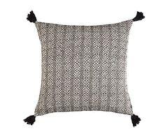 Cojín de algodón, negro Arthur - 45x45 cm