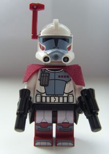 """From Minifigures.co.uk: """"The ARC Trooper LEGO Minifigure was released in 2012 as part of the Star Wars Elite Clone Trooper & Commando Droid Battle Pack 9488."""""""