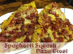 Paleo & Toddler Friendly Spaghetti Squash Pizza Crust | Beansters Bytes