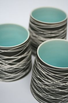 vessel by Rosanna Martin  [what about wrapping felted vessels....]