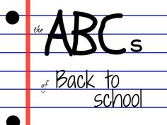 Back to school! This is a great list of back to school goodies from all over the web