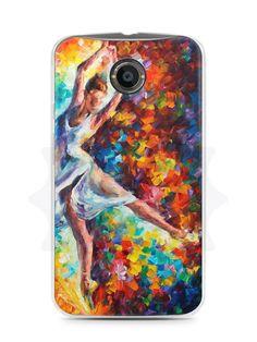 Capa Capinha Moto X2 Bailarina Pintura - SmartCases - Acessórios para celulares e tablets :)