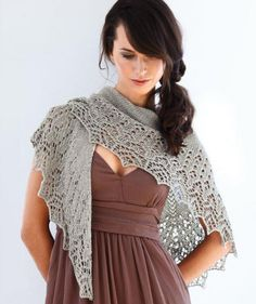 Need to find this pattern -- saw a sample at the Knitting Nest but no pattern available -- Beautiful! Ravelry: 1902 A - Ladies Scarf pattern by Tanja Steinbach Moda Crochet, Knit Or Crochet, Lace Knitting, Crochet Shawl, Knitting Sweaters, Knitted Shawls, Crochet Scarves, Crochet Clothes, Lace Shawls