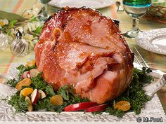 """We hope you're ready to be the talk of the table, 'cause this recipe for Farmhouse Glazed Ham is sure to impress all of your guests. With just a few simple ingredients we'll show you how you can make a foolproof, holiday ham that's, """"Can I have another slice?"""" delicious!"""