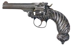 """Rare Historic and Deluxe Tiffany & Co. Smith & Wesson .32 Double Action 4th Model Revolver Exhibited by the Factory at the 1893 """"World's Columbian Exposition"""" in Chicago.      Estimated value: $103,500"""