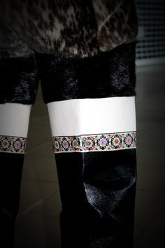 Greenlandic Inuit made sealskin high thigh kamiks via Tukummeq Arnaq