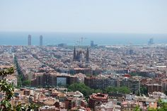 Barcelona view, May 25, 2012