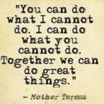 This is my philosophy with my team!! Together we can do great things!! #bettertogether!!! I will help you as much as I can so can be success...