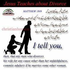 What the bible says about adultery and divorce
