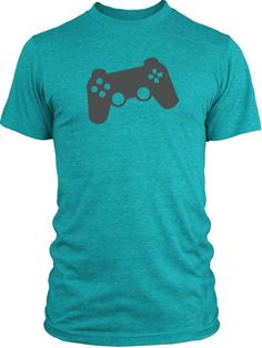Big Texas Game Controller (Grey) Vintage Tri-Blend T-Shirt