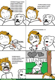 rage comics - You Were the One Waving That Delicious Thing in Front of Me