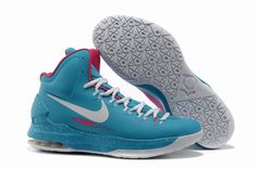 timeless design a3ae3 86d3f Authentic Nike Zoom KD V 5 Jade Pink White Basketball Shoes For Wholesale