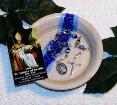 Unbreakable Chaplet of St. Isidore of Seville  by foodforthesoul, $22.95